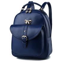 Sweet Girl's Leather School Backpacks Medium Bookbags,Backpacks G034-1 image 3