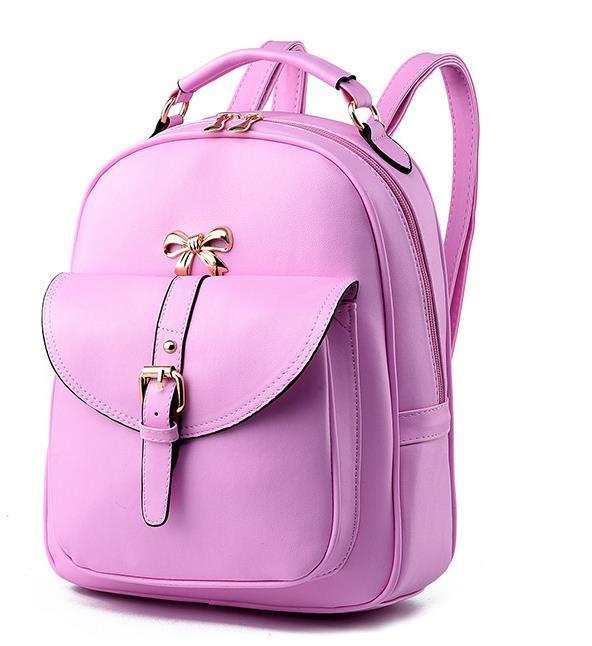 Sweet Girl's Leather School Backpacks Medium Bookbags,Backpacks G034-1 image 5