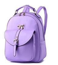 Sweet Girl's Leather School Backpacks Medium Bookbags,Backpacks G034-1 image 6