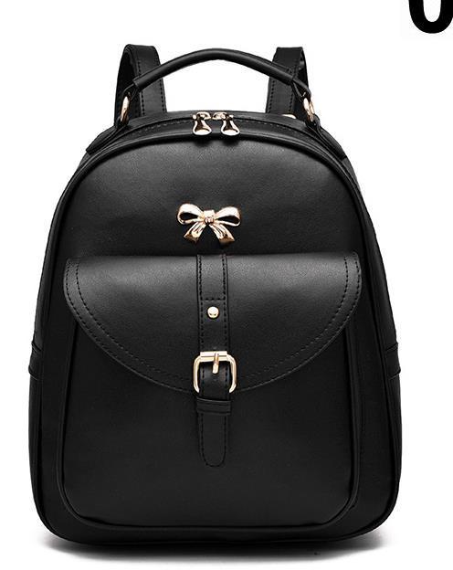 Sweet Girl's Leather School Backpacks Medium Bookbags,Backpacks G034-1 image 7