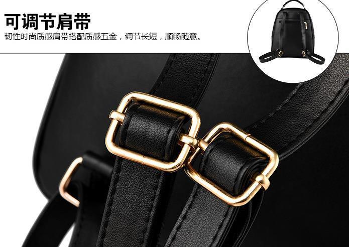 Sweet Girl's Leather School Backpacks Medium Bookbags,Backpacks G034-1 image 11