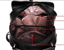 Sweet Girl's Leather School Backpacks Medium Bookbags,Backpacks G034-1 image 12