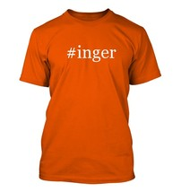 #inger - Hashtag Men's Adult Short Sleeve T-Shirt  - $32.90 CAD