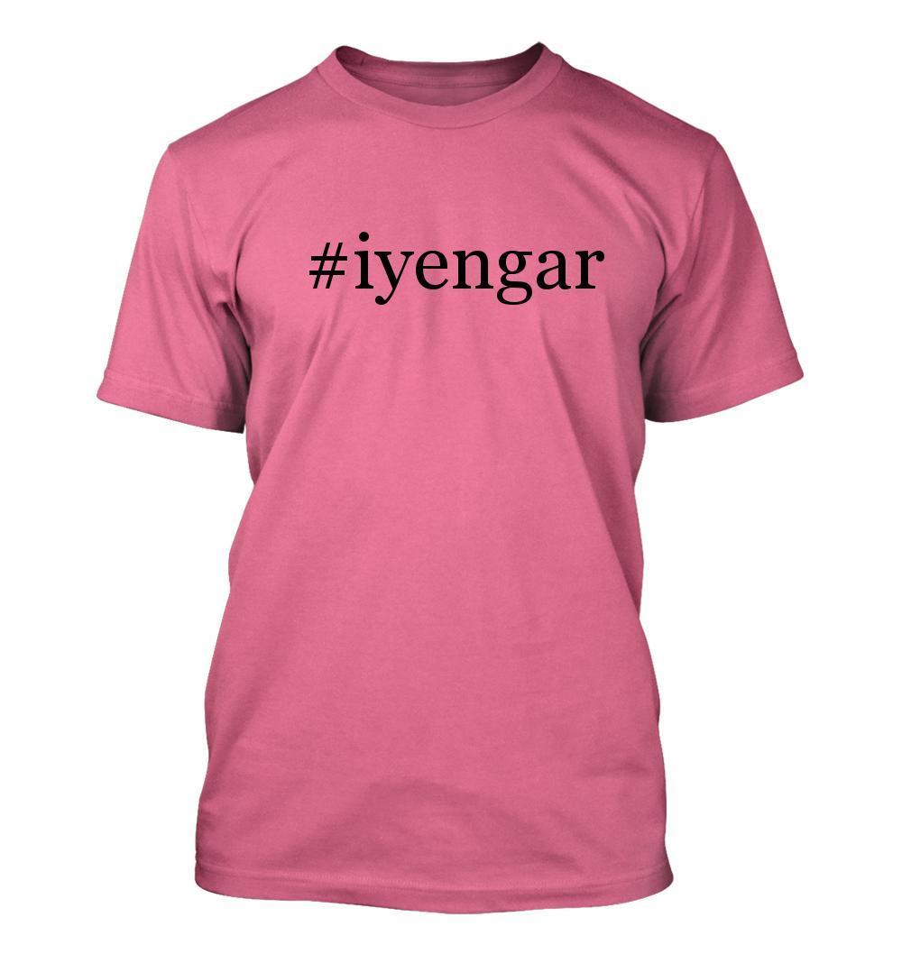 #iyengar - Hashtag Men's Adult Short Sleeve T-Shirt