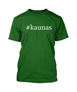 #kaunas - Hashtag Men's Adult Short Sleeve T-Shirt  - $24.97