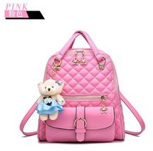 New Students Leather Backpacks Bookbags 7 Color Girl's School Backpacks ... - $38.00
