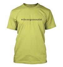 #chronogrammatist - Hashtag Men's Adult Short Sleeve T-Shirt  - $24.97