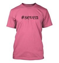 #seven - Hashtag Men's Adult Short Sleeve T-Shirt  - $24.97