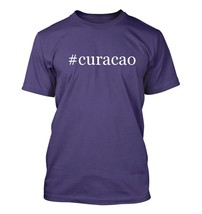 #curacao - Hashtag Men's Adult Short Sleeve T-Shirt  - $24.97