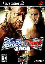 WWE SmackDown vs. Raw 2009 - $9.00