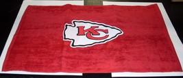 Nfl Nwt 15x25 Sports Fan TOWEL- Kansas City Chiefs - Lg Logo - $16.99