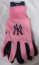 Mlb Nwt 2-TONE Pink No Slip Utility Work Gloves - New York Yankees - $12.95