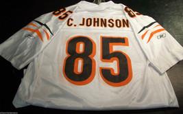 New Nfl Cincinnati Bengals Chad Johnson #85 Away Chase Reebok Jersey Adult Xl - $38.95