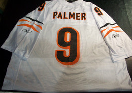 New Nfl Cincinnati Bengals Carson Palmer #9 Away Chase Colors Reebok Jersey Xl - $38.95