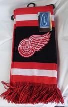 "NWT NHL 2012 TEAM STRIPE ACRYLIC SCARF 64""x7"" - DETROIT RED WINGS - $19.85"