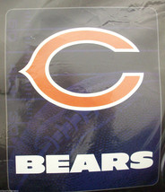 NFL NWT TAILGATER 50X60 THROW BLANKET FIRST AND TEN - CHICAGO BEARS - €28,79 EUR