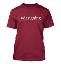 #designing - Hashtag Men's Adult Short Sleeve T-Shirt  - $24.97