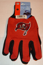 Nfl Nwt No Slip Utility Work Gloves - Tampa Bay Buccaneers - M Ca Urther - $7.95