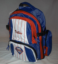 MLB NWT EMBROIDERED ADULT 3 COMPARTMENT BACKPACK - PHILADELPHIA PHILLIES - ₹3,196.70 INR