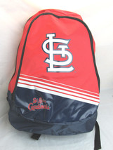 MLB NWT STRIPE CORE ADULT BACKPACK - ST. LOUIS CARDINALS - $25.95