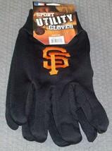 Mlb Nwt No Slip Utility Work GLOVES- San Francisco Giants - $7.95