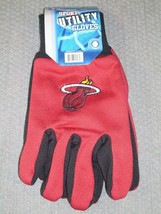 Nba Nwt No Slip Utility Work GLOVES- Miami Heat - $8.95