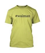 #waiman - Hashtag Men's Adult Short Sleeve T-Shirt  - $24.97