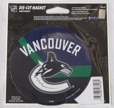 NHL NIB 4 INCH AUTO MAGNET - VANCOUVER CANUCKS - $9.95