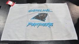 Nfl Nwt 15x25 Sports Fan TOWEL- Carolina PANTHERS- Gray - $15.95
