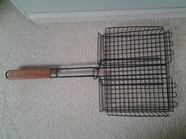Charcoal Companion Nonstick Rectangular Basket Black - $39.50
