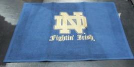 Ncaa Nwt 15x25 Sports Fan Towel -NOTRE Dame Fighting Irish - Blue - $16.95