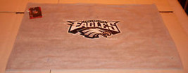 Nfl Nwt 15x25 Sports Fan TOWEL-PHILADELPHIA Eagles Gray - $15.95