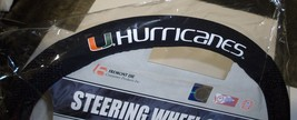 Ncaa Nib Mesh Steering Wheel Cover - Miami Hurricanes - $17.25