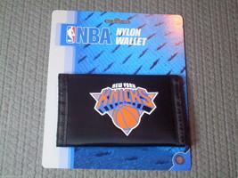 Nba Nwt Printed TRI-FOLD Nylon Wallet - New York Knicks - $7.95