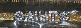 NIP NFL GLITTER FASHION TEAM BRACELET- NEW ORLEANS SAINTS - $13.95
