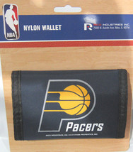 Nba Nwt Printed TRI-FOLD Nylon Wallet - Indiana Pacers - $11.85
