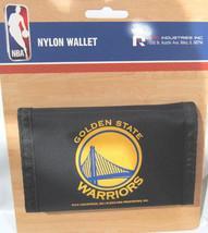 Nba Nwt Printed TRI-FOLD Nylon Wallet - Golden State Warriors - $9.95