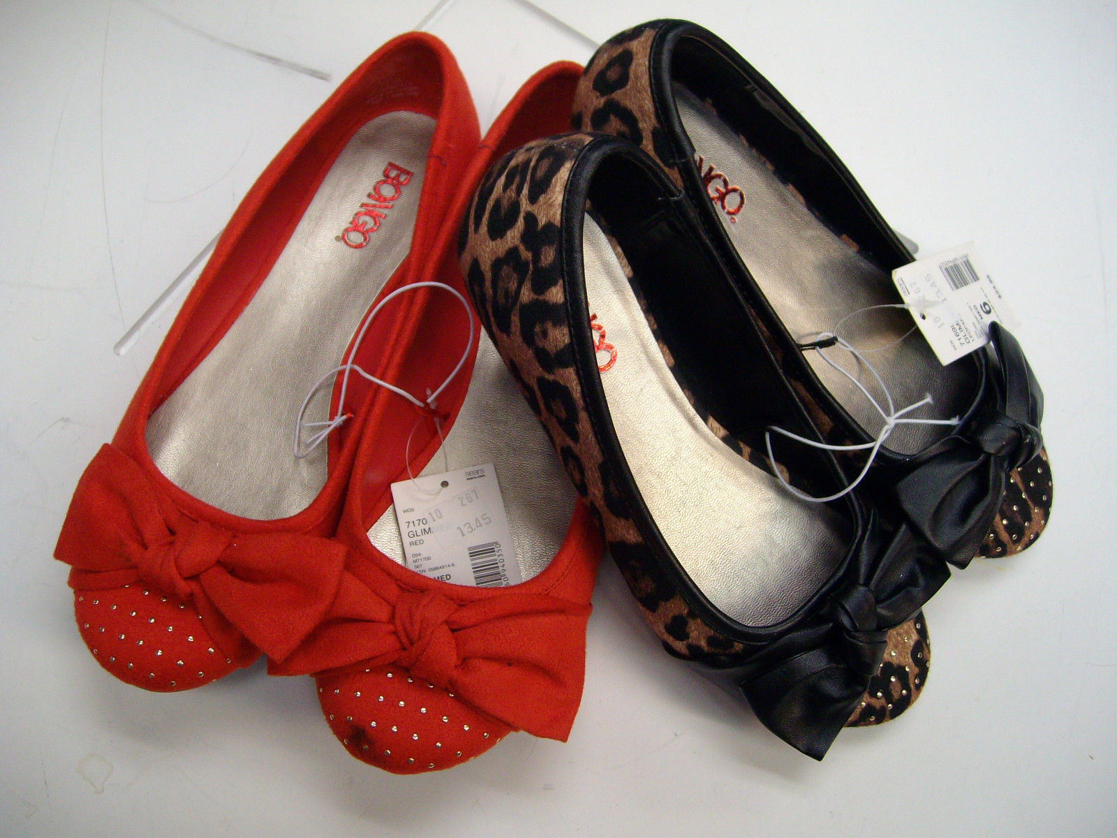 6968e69e68ae54 Bongo Junior Leopard or Red Ballet Flats and 50 similar items. S l1600