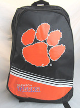 NCAA NWT STRIPE CORE ADULT BACKPACK - CLEMSON TIGERS - ₹1,891.49 INR