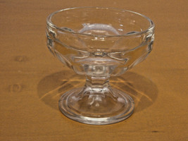 Vintage 1940's Federal Glass Footed Sherbet Dessert Cup set of 10 - $30.00