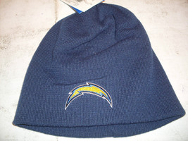 NWT NFL REEBOK CUFFLESS KNIIT CAP HAT-SAN DIEGO CHARGERS - $19.95