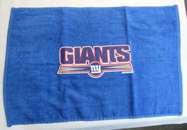 Nfl Nwt 15x25 Sports Fan Towel - New York Giants - Alternate Logo - $15.95