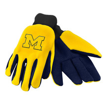 Ncaa Nwt Team Color No Slip Palm Utility Gloves - Michigan Wolverines - $9.95