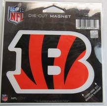 NFL NIB 4 INCH AUTO MAGNET - CINCINNATI BENGALS - LOGO - $9.95