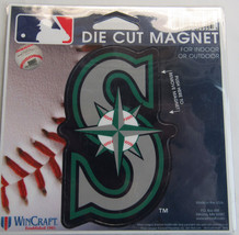 MLB NIB 4 INCH AUTO MAGNET - SEATTLE MARINERS - $9.95