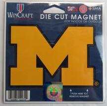 Ncaa Nib 4 Inch Auto Magnet - Michigan Wolverines - $9.95