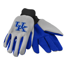 Ncaa Nwt Team Color No Slip Palm Utility Gloves - Kentucky Wildcats - $9.95