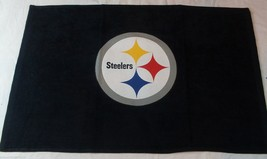 NFL NWT 15x25 SPORTS FAN TOWEL- PITTSBURGH STEELERS - LOGO ONLY - €14,39 EUR