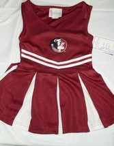 NCAA NWT TODDLER CHEERLEADER DRESS - FLORIDA STATE - 2T - $39.95