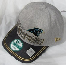 NFL CAROLINA PANTHERS NEW ERA 2015 NFC CONFERENCE LOCKER ROOM CHAMPIONSH... - $24.99